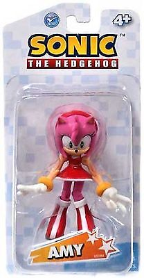 Sonic The Hedgehog Amy Rose 3 5 Inch Plastic Action Toy Figure