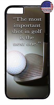 Golf Ball Sport Quote Saying New Design Case Cover For Apple iPhone 7 / 7 -