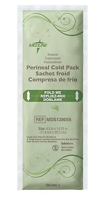 "Medline Standard Perineal Cold Pack, 4.5"" x 14.25"", Case of 24 Packs - MDS138055"