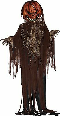 Halloween Lifesize Non-Animated HANGING SCARY PUMPKIN 12 Foot Prop Haunted House (Non Scary Halloween)