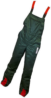 Chainsaw Forestry Protection Bib & Brace Trousers 38