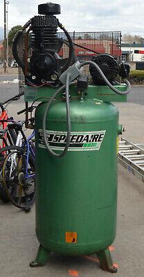 Speedaire 5z399b 3 Phase 5hp Stationary Air Compressor W 5z404b Pump J132 Motor