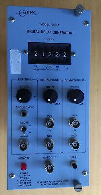 Bnc Berkeley Nucleonics Corp Model 7030a Digital Delay Generator Nim Module