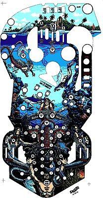 BALLY Fathom Pinball Machine Playfield Overlay