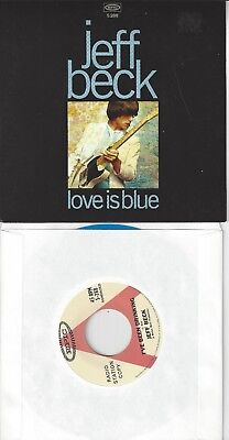 2 Jeff Beck Record Store Day Singles Love Is Blue   Tallyman 45S Vinyl Records