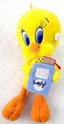 """Looney Tunes Tweety Plush 11"""" w/ MP3 pouch"""