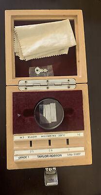 Taylor Hobson Calibration Block - Grade 1 112-1874-01 Bs4311