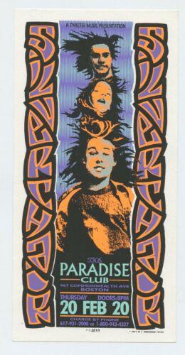 Silverchair Handbill 1997 Feb 20 Paradise Club Boston