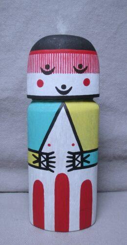 Herb Talahaftewa Carved & Painted Wood Hopi Kachina Flat Doll