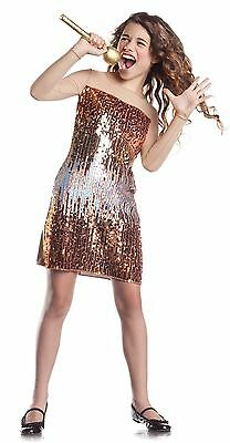 Country Singer Sequin Halloween Costume Girl Size M 8-10 (Country Singer Costume)