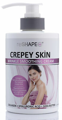 reShape + Crepey Skin Wrinkle Smoothing Cream 15 Fl Oz (444g)