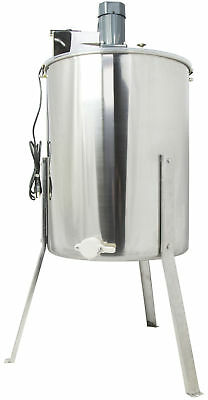 New Electric Four 4 Frame Stainless Steel Honey Extractor VIVO Model BEE-V004E