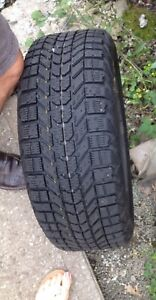 Honda Civic  FIRESTONE Winter Tires on rims