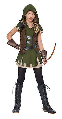 Miss Robin Hood Arrows Child Girls Tween Costume - Robin Hood Costume For Girls