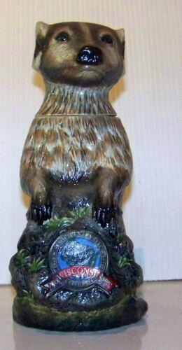 Leinenkugel Wisconsin Sesquicentennial  1848 - 1998 Badger character beer stein,