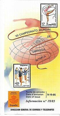 España Campeonato Mundial de Gimnasia Ritmica año 1985 (EZ-340)