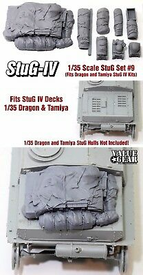 1/35 Scale StuG IV Deck Stowage Set #9 (8 Pieces) - Value Gear Resin for sale  Flagstaff