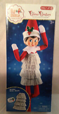 Elf On The Shelf Claus Couture Tiny Tinsel Dress