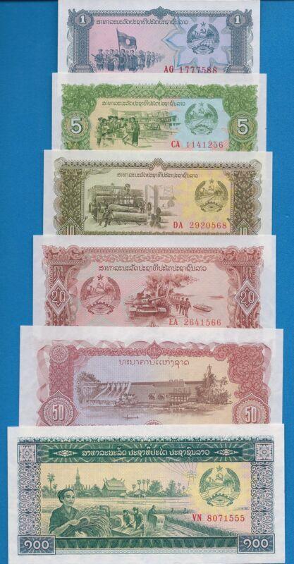 Laos P-25,26,27,28,29,30,31,32,33 Uncirculated Banknotes Set-LA6