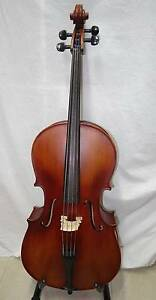 1/4 Kreisler Cello No 130 Good Tone solid wood with bow Dundas Parramatta Area Preview