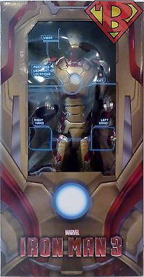 """IRON MAN 3 MARK 42 ARMOR 1/4 Scale 18"""" inch Action Figure wi"""