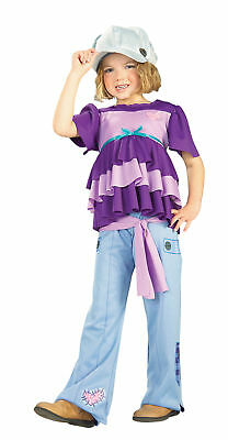 60's Holly Hobbie Hobby Child Costume Pants Shirt Hat Theme Party Halloween - 60's Themed Halloween Costumes