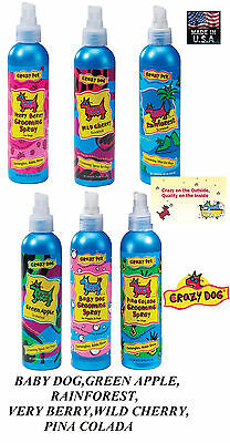 CRAZY DOG DESIGNER MIST SPRAY COLOGNE PERFUME DEODORANT (Dog Mist)
