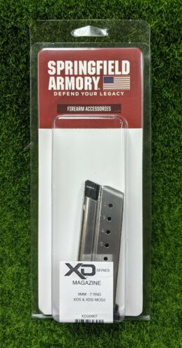Springfield Armory, Stainless Steel 9mm 7 Rd, XDS/XDS MOD2 Magazine - XDS0907