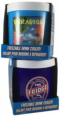 The Fridge Freezer and Fridge Paradise Freezable Drink Can Cooler Comb...