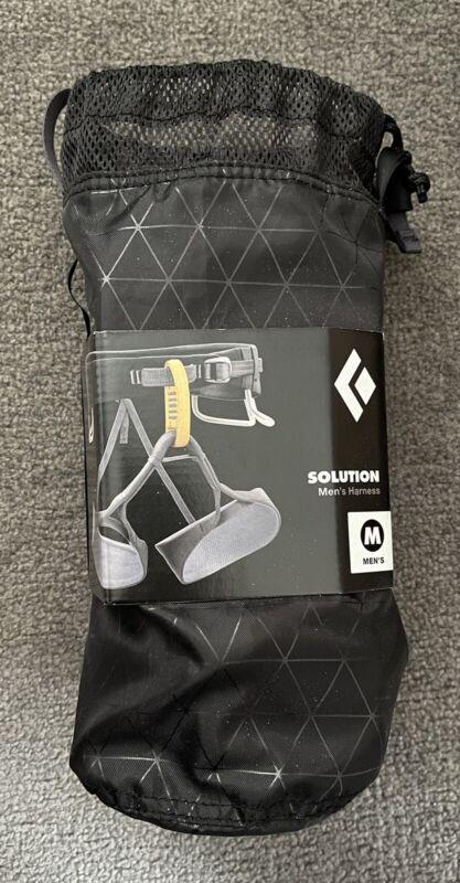 Black Diamond Solution Climbing Harness - Medium
