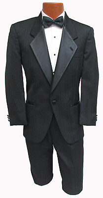 Men's Black Dior Tuxedo with Pants & Shirt Gatsby Bond 007 Halloween Costume ](Gatsby Costume Male)