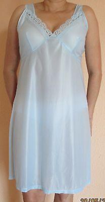 Unterkleid long Farbe Blau Größe 46