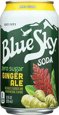 Soda - Zero Sugar Ginger Ale (24 - 12 (Ale Sugar)