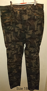 City chic camo print jeans Peterhead Port Adelaide Area Preview