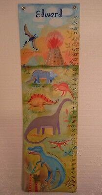 - Oopsy Daisy Dinosaurs Canvas Growth Chart