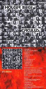 Holger Biege: Circulus Zweites Werk! 12 Songs plus vier Bonustracks! Neue CD! 1A