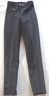Cavallo  Softshell Damenreithose, Vollbesatz, schwarz gestreift, Gr. 72 (1095)