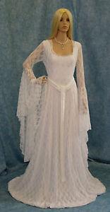 Galadriel-white-lace-dress-Handfasting-medieval-wedding-LOTR-fantasy-gown-custom