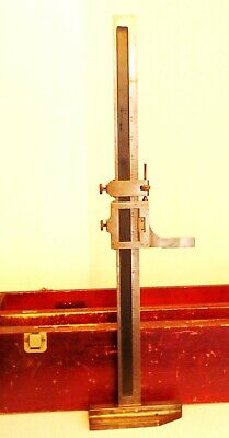 Starrett 18 454 F Vernier Height Gauge In Original Box