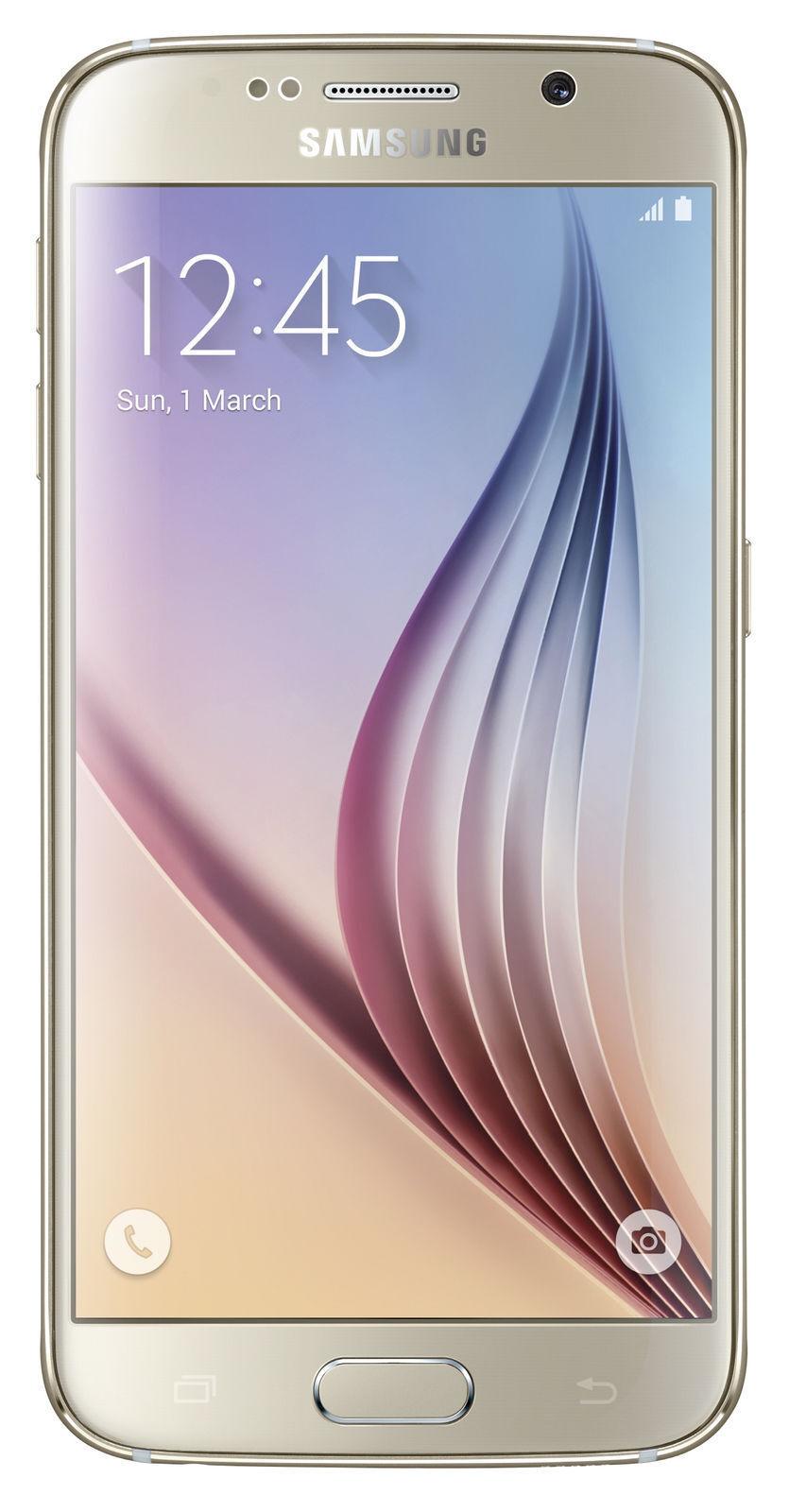 Samsung Galaxy S6 SM-G920 - 32 GB - Gold Platinum (Unlocked) Smartphone