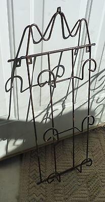 Metal Plate Wall Rack holds 3 Plates Metal Plate Rack