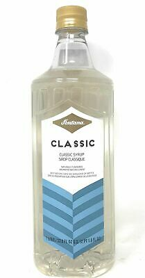 Fontana By Starbucks Classic Coffee Beverage Flavoring Syrup 1 Liter