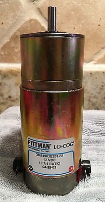 Pittman 12 Vdc Motor Gm14903e201-r1 19.71 Ratio - New