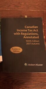 Income tax act - academic edition
