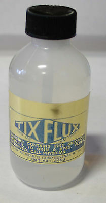 New Tix Flux - For Soft Solders - 2 Ounces Sd-05-2