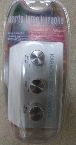 Party Tyme Karaoke Mic Adaptor Using DVD Player SYB-111