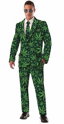 Forum Novelties Cannabis Joint Venture Anzug 4/20 Erwachsene Halloween - Joint Kostüm