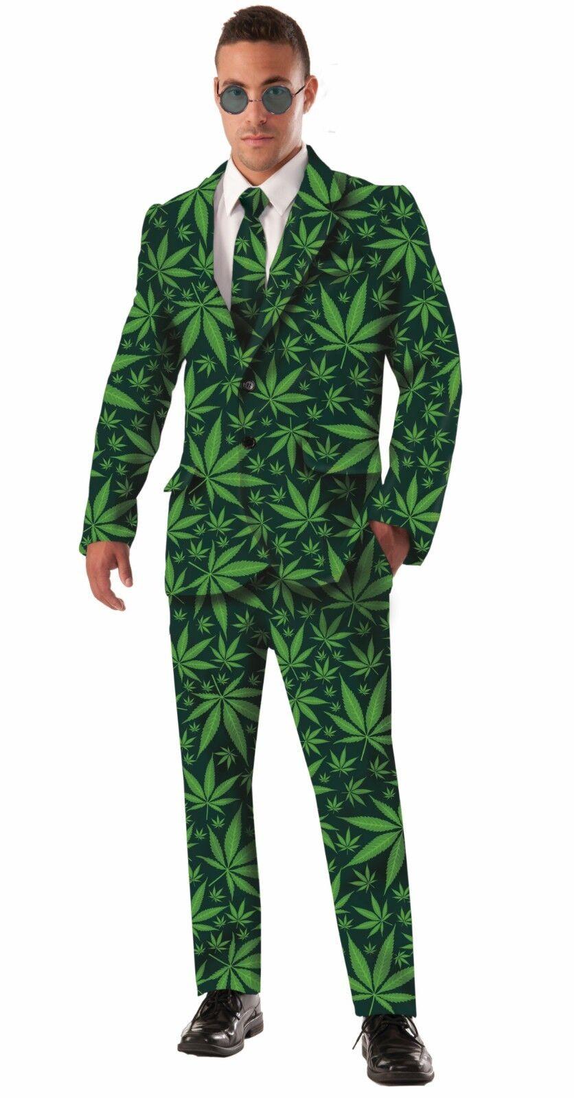 Forum Novelties Cannabis Joint Venture Anzug 4/20 Erwachsene Halloween Kostüm