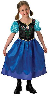 Anna Classic Frozen Prinzessin Kostüm Disney Film Die Eiskönigin 12388954313