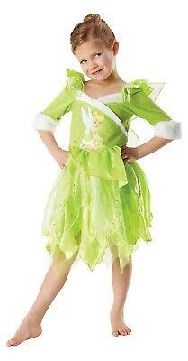 Rubies 3881869 - Tinker Bell Winter Wonderland, Kinder Kostüm, Fee, Gr. S, M - Tinkerbell Kostüm Kind